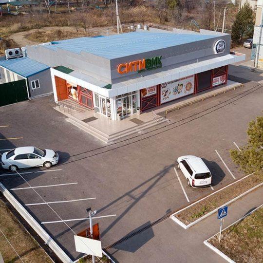 Торговый центр общей площадью 542 м2 В Пгт. Кировский