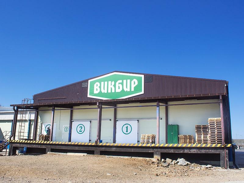 Здание складского назначения